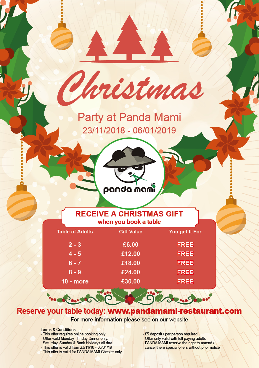 Panda express gift card christmas 2019