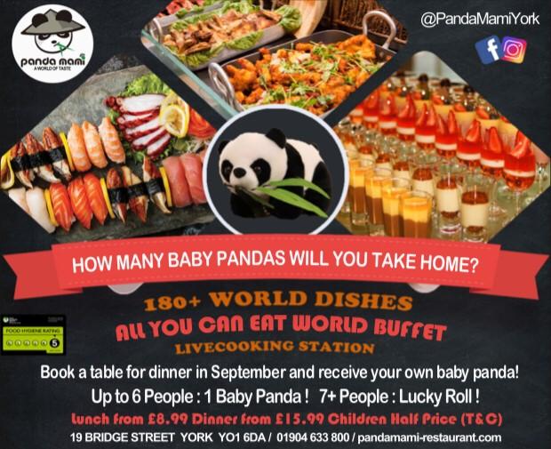 Panda Mami Buffet Restaurant York